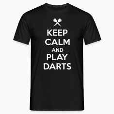 keep calm and play darts T-Shirts