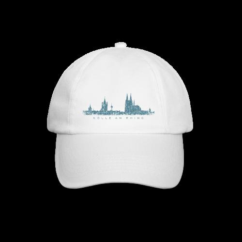 Kölle am Rhing Skyline (Vintage Blau) Köln Baseballkappe - Baseballkappe