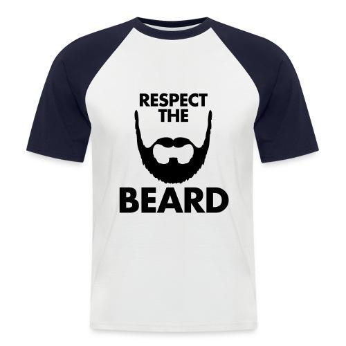 Beard T-Shirt - Camiseta béisbol manga corta hombre