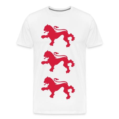 England three lions t-shirt - Männer Premium T-Shirt