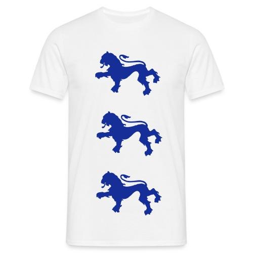 England three lions t-shirt - Männer T-Shirt