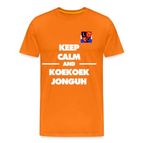 gekke gijs - Mannen Premium T-shirt
