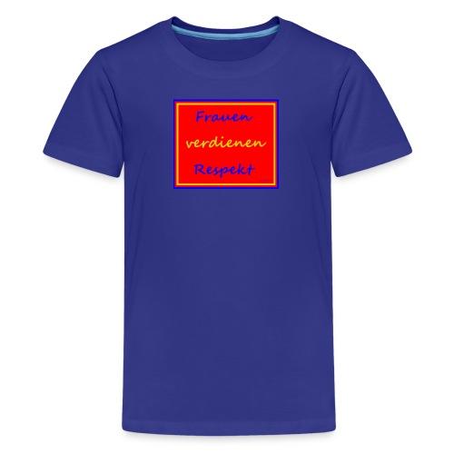 Frauenshirt - Teenager Premium T-Shirt