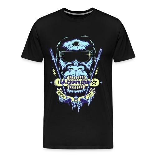 Superstar Snow - Camiseta premium hombre