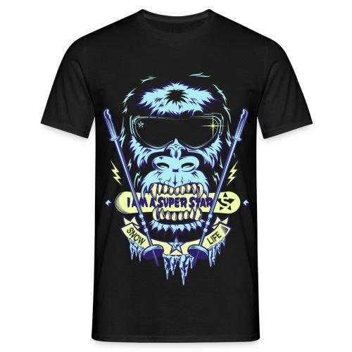 Superstar snow - Camiseta hombre