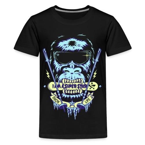 Superstar snow - Camiseta premium adolescente