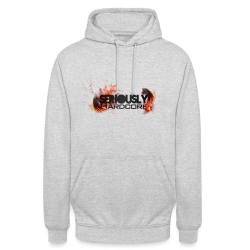 Seriously Hardcore Hoodie (Grey) - Unisex Hoodie