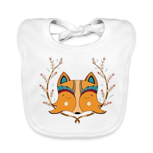 Fox spirit - Bavoir bio Bébé