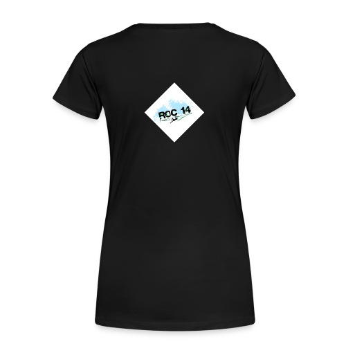 tee shirt femme col rond noir - T-shirt Premium Femme
