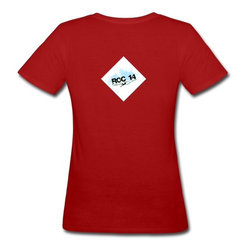 tee shirt femme coton bio rouge - T-shirt bio Femme
