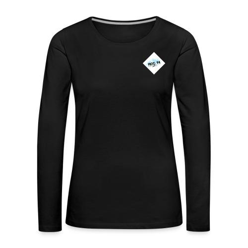tee shirt femme manches longues noir - T-shirt manches longues Premium Femme