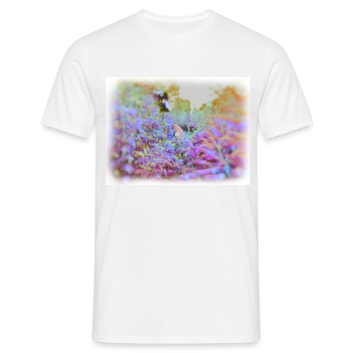 Girl in LSD Jungle - Men's T-Shirt