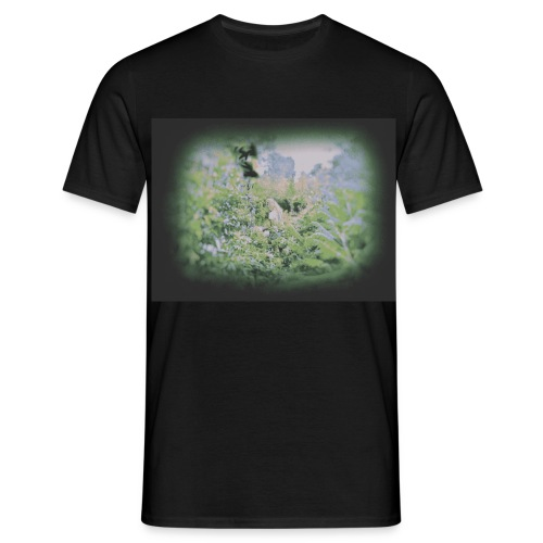 Girl in Jungle - Men's T-Shirt