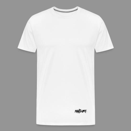 Tee Shirt Manticore petit Noir - T-shirt Premium Homme