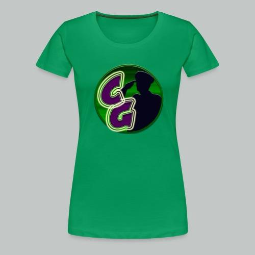 Greenish Goddess PLUS - Women's Premium T-Shirt
