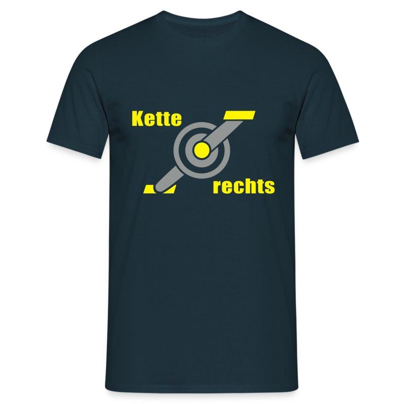 Kette rechts Kurbel RR 2C - Männer T-Shirt