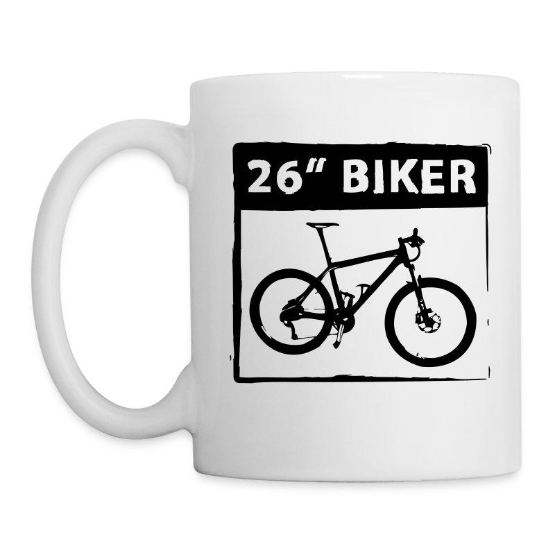 26 Biker 1C Cut - Tasse