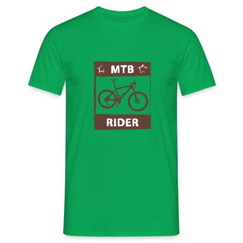 MTB Rider - Spruch Shirt - 2C - Männer T-Shirt