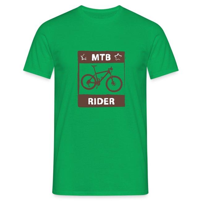 MTB Rider - Spruch Shirt - 2C
