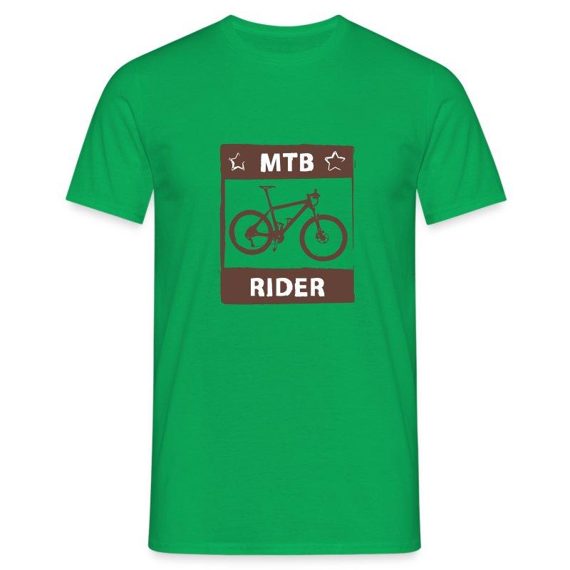 MTB Rider 2C top - Männer T-Shirt