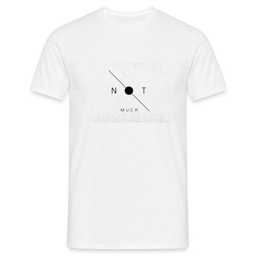 T-Shirt w/ grey logo - Men's T-Shirt