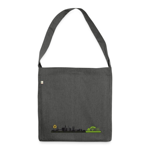LOADING DEATH - Schultertasche aus Recycling-Material