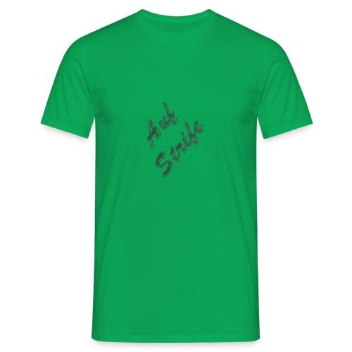 Auf Streife T-shirt in grün - Männer T-Shirt