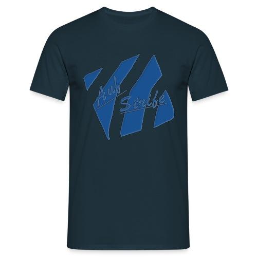 Auf Streife T-shirt in blau - Männer T-Shirt