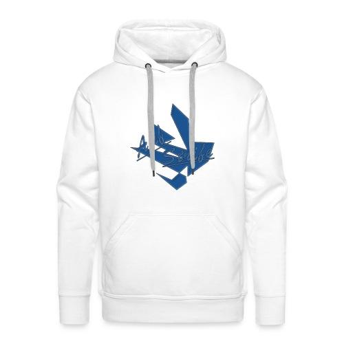 Auf Streife Pullover in blau - Männer Premium Hoodie