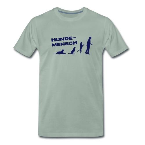 Neue Farbe! - T-Shirt - Hundemensch - Männer Premium T-Shirt