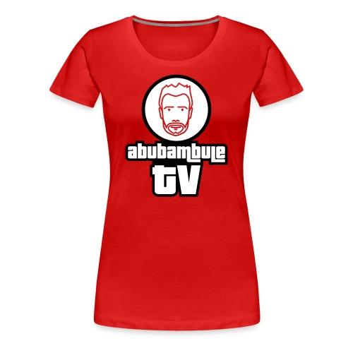 Damen T-Shirt - Abubambule TV Logo in verschiedenen Farben - Frauen Premium T-Shirt
