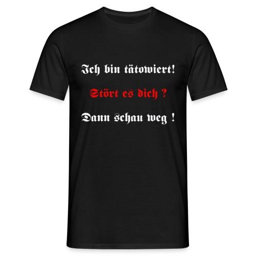 Tätowiert - Männer T-Shirt