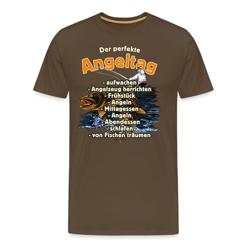 best of angler fischer geschenke t shirts maenner premium t. Black Bedroom Furniture Sets. Home Design Ideas