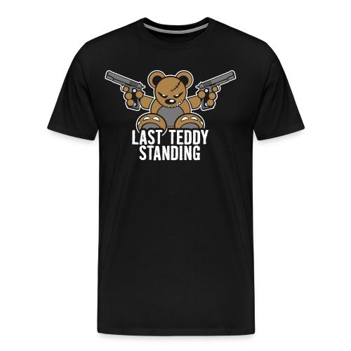 Teddy LastStand – BlackT - Männer Premium T-Shirt