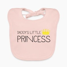 Daddy's little Princess Baby Bibs