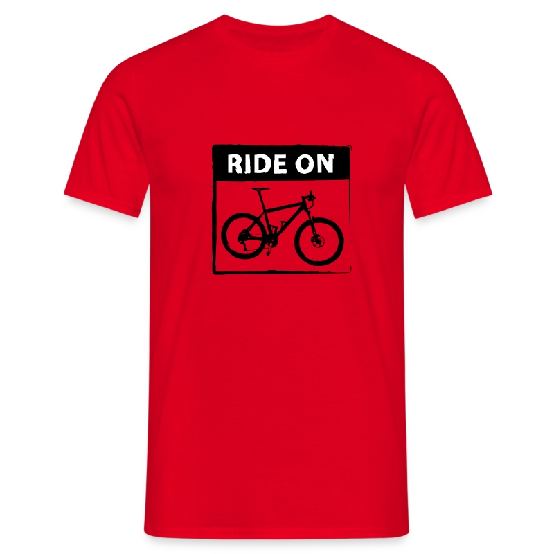 Ride On MTB 2C top - Männer T-Shirt