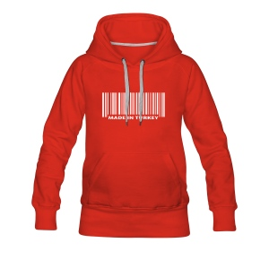 Made in  Turkey - Frauen Premium Kapuzenpullover