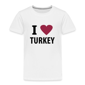 I love Turkey - Kinder Premium T-Shirt