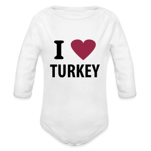 I love Turkey - Baby Langarm-Body