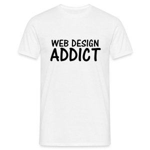web design addict T-Shirts - Men's T-Shirt