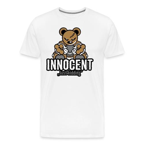 Teddy Innocent – WhiteT - Männer Premium T-Shirt
