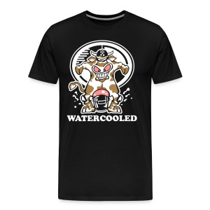 Watercooled Cow – BlackT - Männer Premium T-Shirt