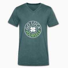 Go luck yourself st.Patty's day Men's V-Neck T-S