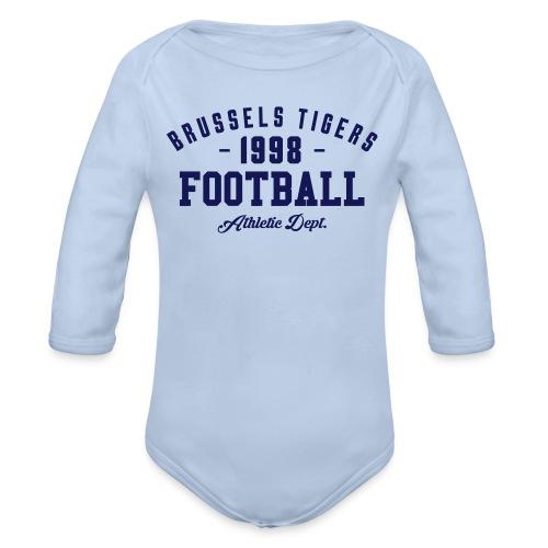 Tigers Athletic Baby - Organic Longsleeve Baby Bodysuit