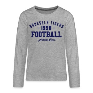Tigers Athletic LS Tee - Teenagers' Premium Longsleeve Shirt