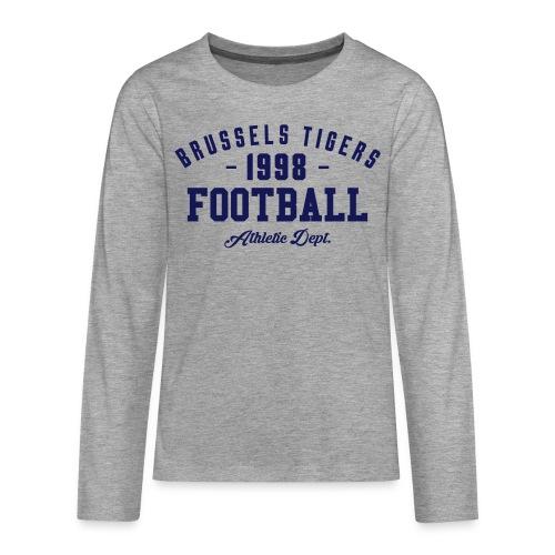 Tigers Athletic LS Tee - Teenagers' Premium Longsleeve Shirt