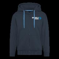 Hoodies & Sweatshirts ~ Men's Premium Hooded Jacket ~ Tigers Logo Zip Hoodie