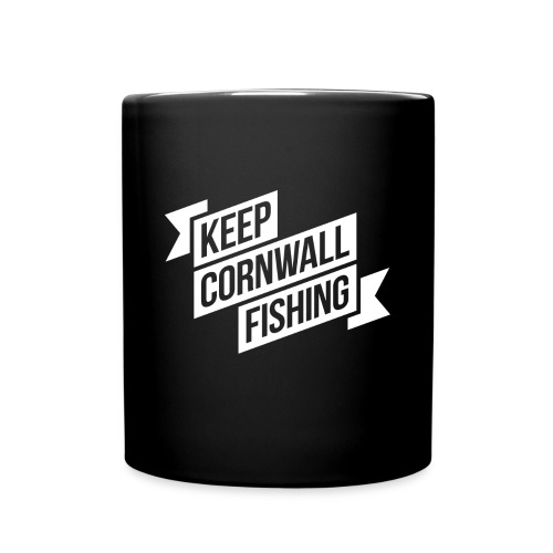 DFQC KCF Mug - Black - Full Colour Mug