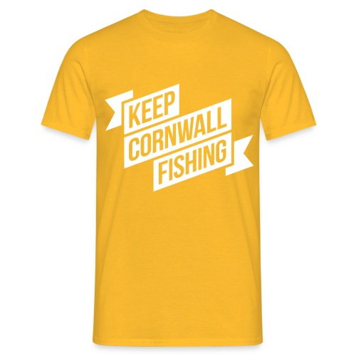 DFQC KCF T-Shirt - Yellow - Men's T-Shirt