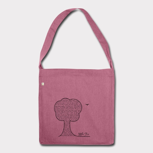 b.ag - t.ree - Schultertasche aus Recycling-Material